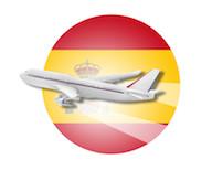 Fly til Spanien, besigtigelse, gratis fly, refunderet flyrejse