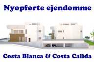 Nøglefærdige og projekterede boliger i Alicante